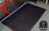 Estera de goma ligera de la gimnasia de la estrella para el lavadero de los cuartos de la aptitud y el suelo y más del sótano de los cuartos utilitarios
