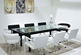 verre trempé noir en verre Tempered de table basse de 10mm