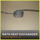 Enroulement de refroidissement de tube d'acier inoxydable