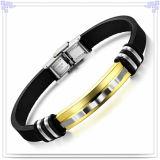 Form-Schmucksache-Gummiarmband-Silikon-Armband (LB505)