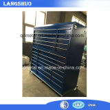 Cassa della cassetta portautensili del metallo di memoria/Governo di strumento d'acciaio con le rotelle