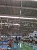 Ventilador de techo grande modificado para requisitos particulares libre industrial de Hvls del mantenimiento los 7.4m (los 24.3FT)