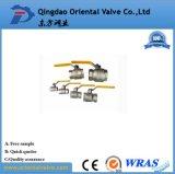 Valvole a sfera d'ottone di consegna della Cina di fabbricazione veloce del fornitore 1 - 1/2 con industria superiore