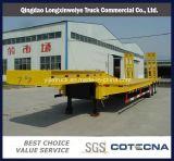 De Lage Oplegger van uitstekende kwaliteit van het Bed 80-100ton