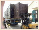 بناء كابول يطوي [ه] على نحو واسع يستعمل سقالة إطار