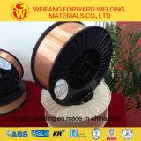 Collegare solido di rame di saldatura della saldatura del materiale di consumo 0.9mm 15kg/Spool Sg2 Er70s-6 con il certificato ISO9001 TUV