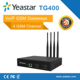 Входной Yeastar 4 GSM Chanel VoIP с карточкой 4 SIM для стержня GSM