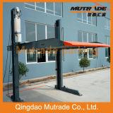 Apilador mecánico del estacionamiento de dos postes para Commercail y el uso residencial