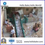 Macchina semiautomatica idraulica della pressa per balle per il riciclaggio di carta di Wast