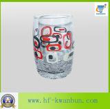 ステッカーの印刷のガラスコップの熱い販売のガラス製品のKbHn0406の高品質