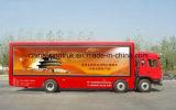 Rhd와 LHD의 널 트럭을 광고하는 직업적인 공급 발광 다이오드 표시