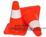 Verkehrs-verschiedener Leuchtstofffarben reflektierender Belüftung-Kegel Pjtc102