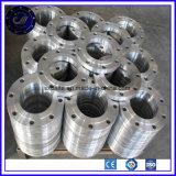造られたステンレス鋼SS304 SS316 A105 Q235の炭素鋼の平たい箱の板フランジ
