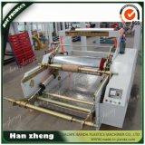 Máquina de alta velocidad de la protuberancia de la película del LDPE ABA del HDPE para el bolso de compras Sjm-Z45-2-1100