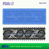 Mehndi 3D Silicone Sugar Lace Mat pour Edible Cake Decorating (MHC-073)