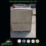 Listones de madera de la madera contrachapada de la base del álamo