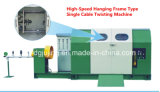 630p PEの電源コードのための高速ハングのフレームタイプ単一のねじれる機械