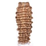 Jungfrau-brasilianischer Haar-Einschlagfaden 100%