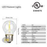 Fabricante Hhot de Shenzhen que vende o bulbo G45 do diodo emissor de luz Filamnet