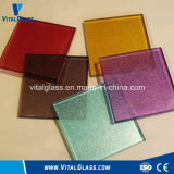 De vidro reflexivo/modelou o vidro quebrado Glass/Tempered do flutuador Glass/Fired Glass/Fireplace do pó de vidro do flutuador Glass/Color de Glass/Crushed Glass/Tinted