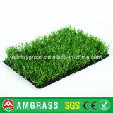 A falsificação do futebol/esportes do futebol lanç a grama sintética do gramado