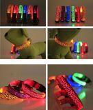 LED 가벼운 애완 동물 고리, 승진 선물을%s 개 목걸이