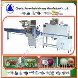 De plantaardige Automatische Hitte van het Dienblad krimpt de Machine van de Verpakking (swc-590+swd-2500)