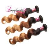 Unprocessed дешевая белокурая бразильская объемная волна волос девственницы