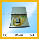 """1u 19 """" Rack/ABS 상자 1X2/1X4/1X8/1X32/1X64 광섬유 PLC 쪼개는 도구"""