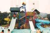 Campo de jogos ao ar livre da corrediça de água das crianças grandes (M11-04801)
