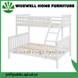 Festes Holz-volles unteres Doppelspitzenkoje-Bett (WJZ-B72)