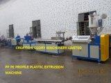 製造業のPEのプロフィールのための高品質のプラスチック突き出る機械装置
