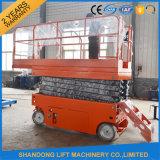 Ascenseur électrique mobile hydraulique de ciseaux d'approvisionnement d'usine de la Chine Shandong