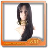 Парик шнурка плотности 180% бразильский Silk передний