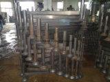 Гальванизированный сталью паллет столба