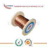 Fil de l'alliage CuNi2 du diamètre 0.005mm 0.045mm, fil de cuivre de nickel pour la portée de véhicule Heated