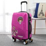 中国の最上質の堅いスーツケースのポリカーボネートのトロリー荷物