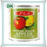 Venda quente maçãs enlatadas com boa qualidade