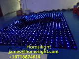Rgb-volle Mischung färbt videovorhang-Licht des 3 * 4 m-feuerfestes Samt-LED für DJ-Stadiums-Erscheinen-Anblick