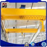 El Qd pulsa la grúa de puente doble del gancho de leva con la carretilla