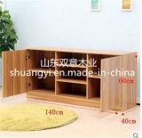Modules en bois solide TV avec des tiroirs
