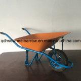 Carrinho de mão de roda forte no mercado africano