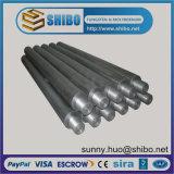 De Elektrode van het Molybdeen van de hoogste die Kwaliteit (moly), Mo Staaf in Industrie van de Glasvezel wordt gebruikt
