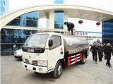Carro fresco vendedor caliente del depósito de leche del tanque del transporte de la leche del carro de petrolero de la leche