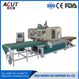 Cnc-Fräser-Maschine für Möbel-Industrie laden und aus dem Programm nehmend