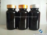 botella plástica de la medicina del animal doméstico 150ml con el casquillo del metal