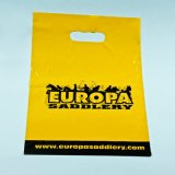 Design personalizzato Die Cut Handle Bag per Shopping Plastic Bag
