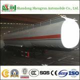 Tanker van de van certificatie ISO de Aanhangwagen van de tri-As voor de Semi Aanhangwagen van de Tank van de Brandstof van de Ruwe olie van de Tractor/van de Benzine