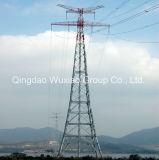 Башня стальной трубы электрического распределения передачи силы электропитания трубчатая
