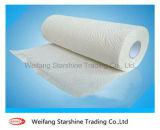 Papel de toalha de rolo de cozinha de qualidade superior de 2 ply Premium